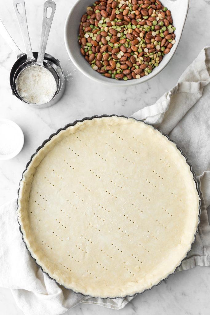 how to make savory tart dough