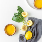 lemon basil tart