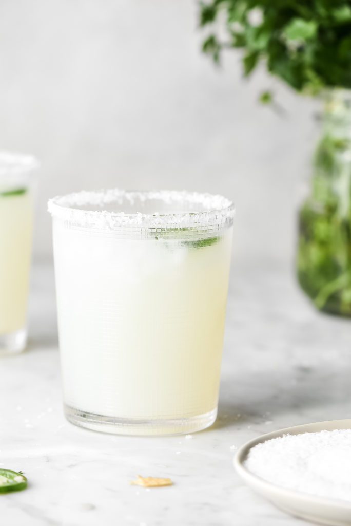 how to make cilantro jalapeno margarita