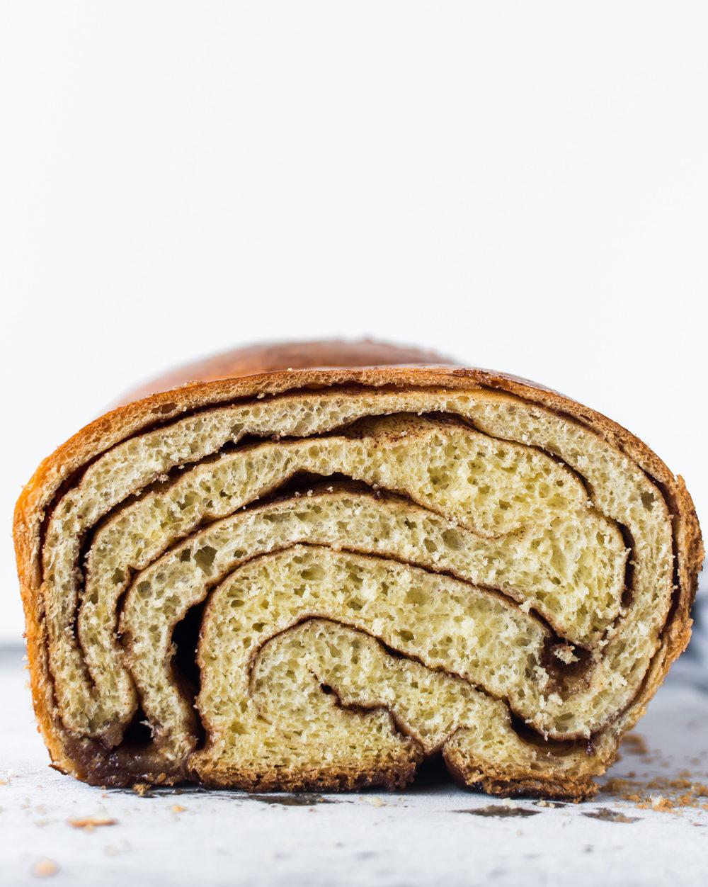 Cinnamon Swirl Yeast Bread With Spice