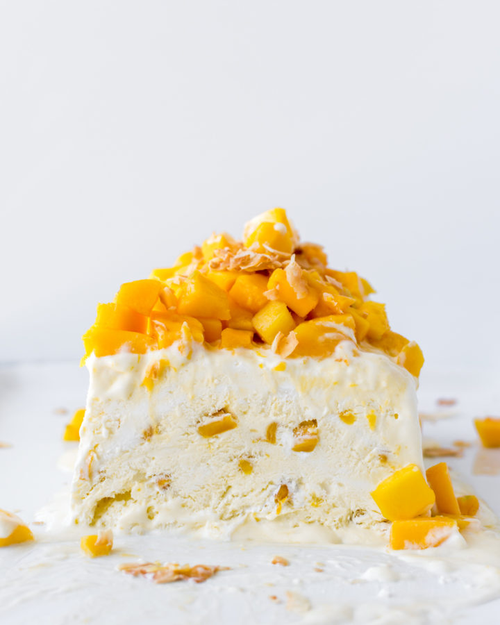 coconut mango semifreddo-- with spice seasonal food blog