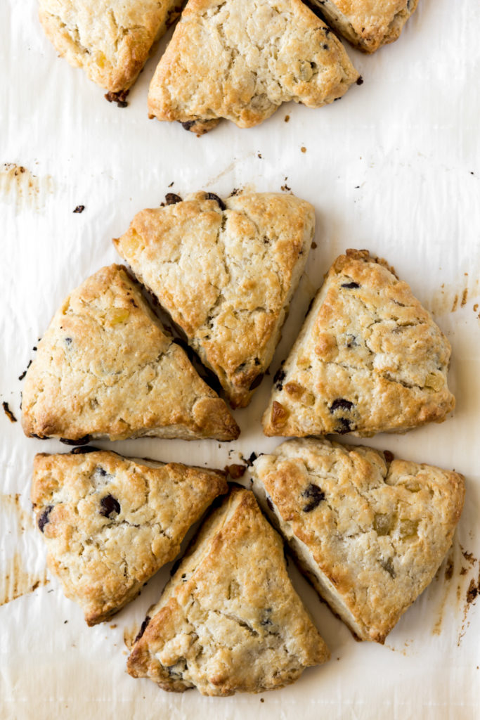 homemade ginger scone