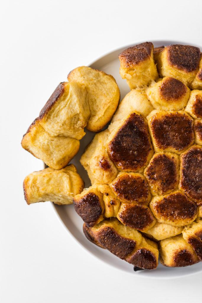 brown butter butternut squash rolls recipe