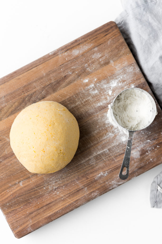 soft yeast dough from leftover squash