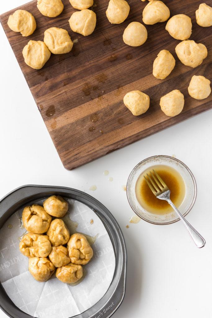 brown butter honey coating