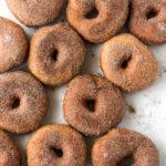 cinnamon sugar yeast raised spudnuts