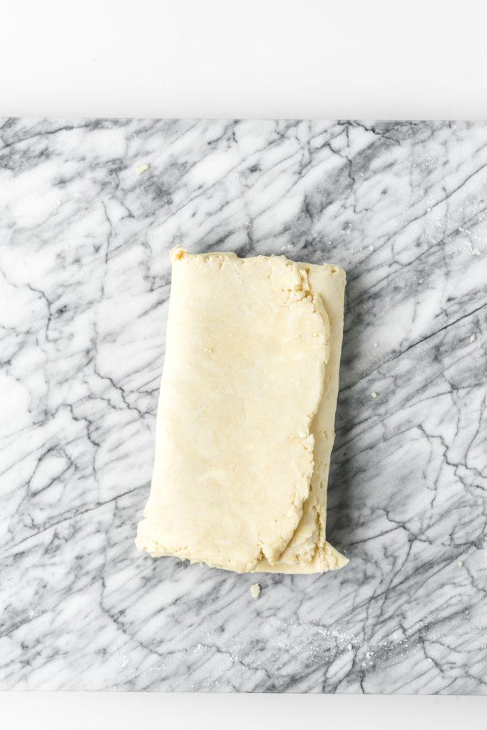how to make flaky pastry3 for wild mushroom tart