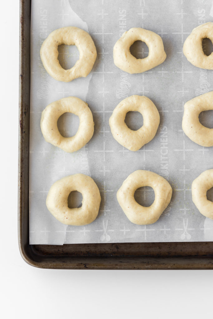 how to shape yeast raised donuts