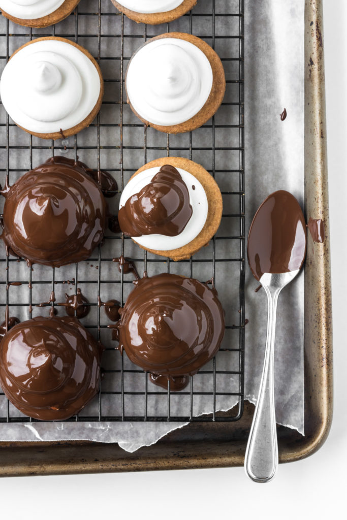 marshmallow dipped cookie recipe