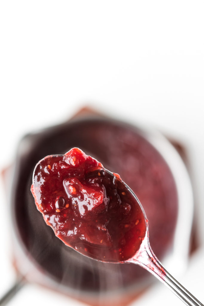 what to do with leftover cranberry sauce