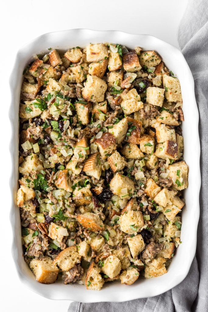 how to make sourdough stuffing