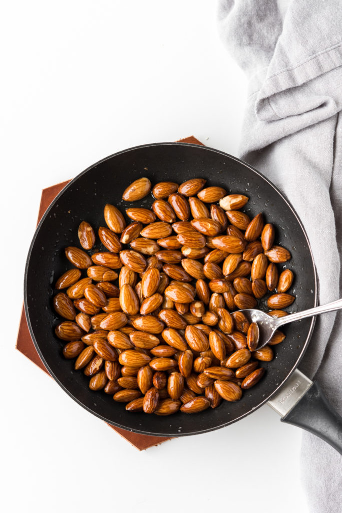 toasted salted almonds