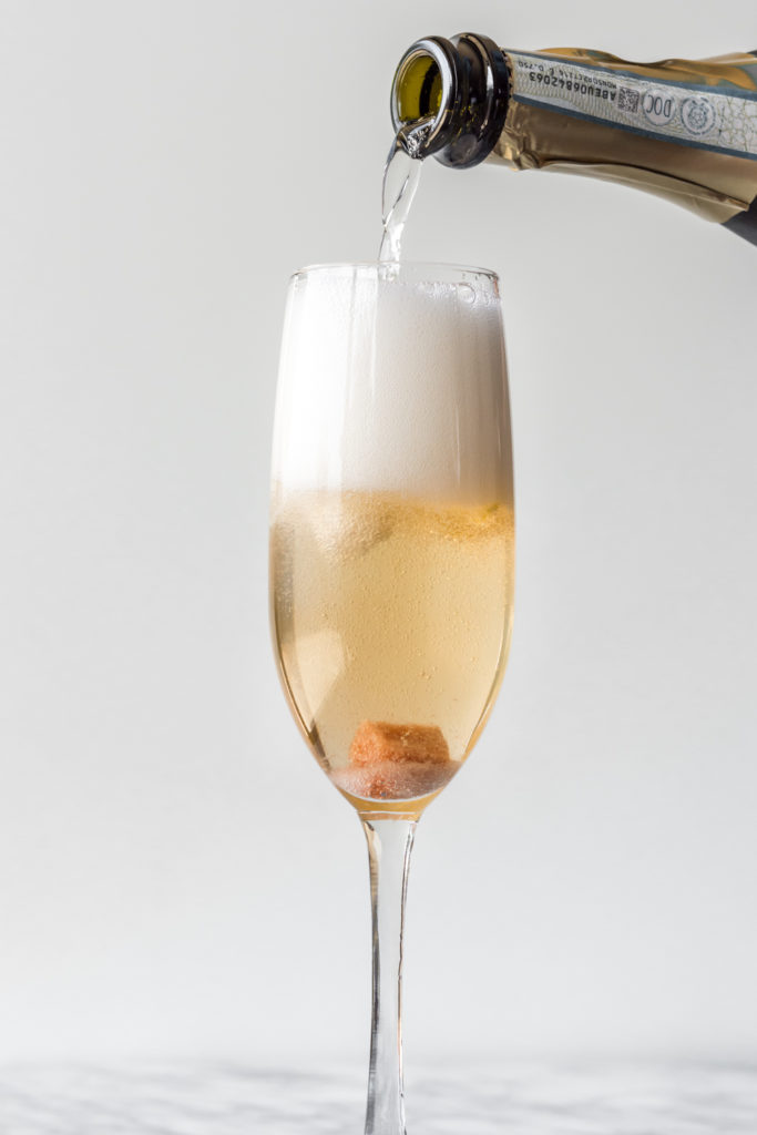 classic champagne cocktail-- withspice seasonal food blog