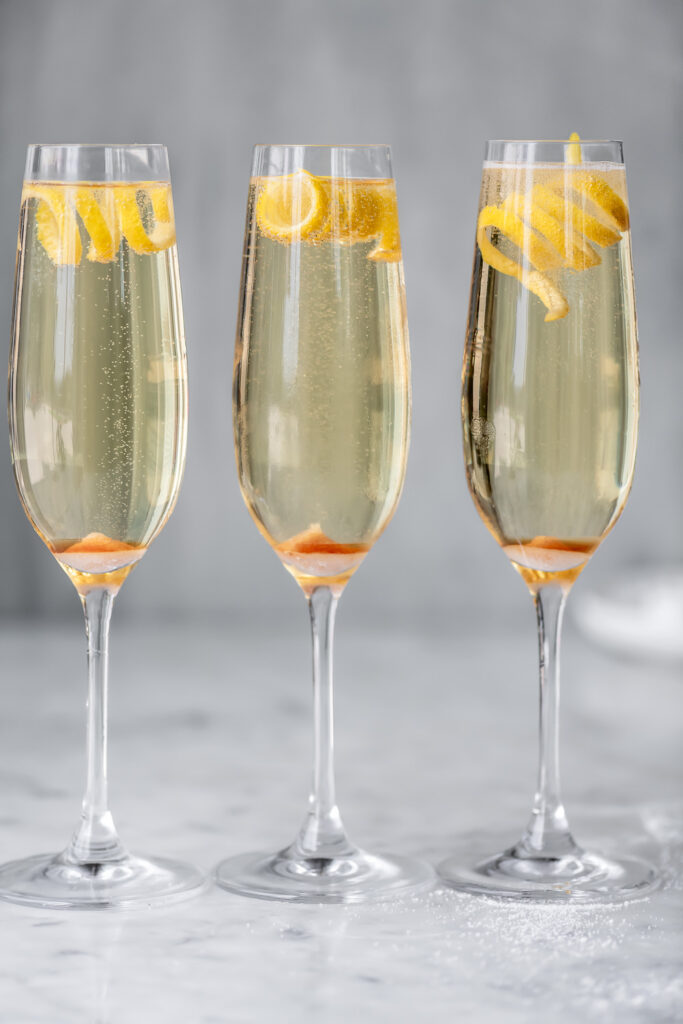 simple champagne cocktail