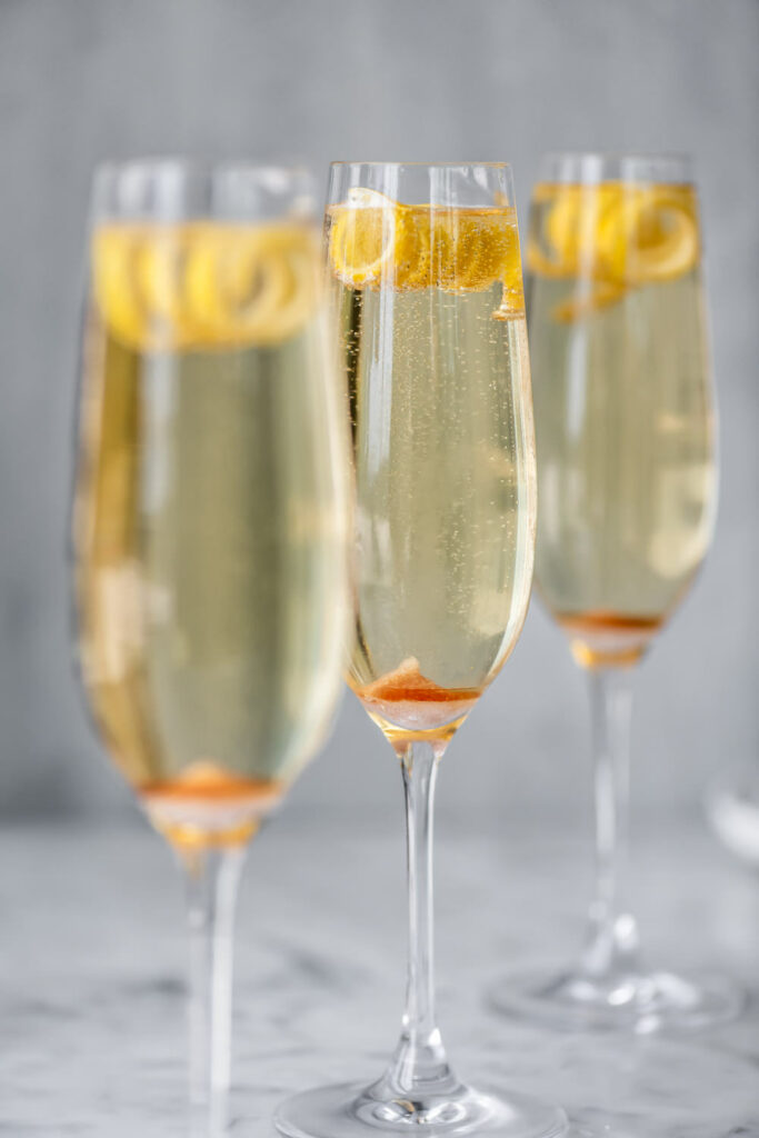 the best champagne cocktail