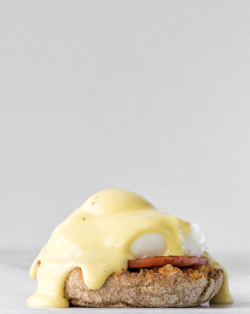 how to make easy eggs benedict-- withspice seasonal food blog