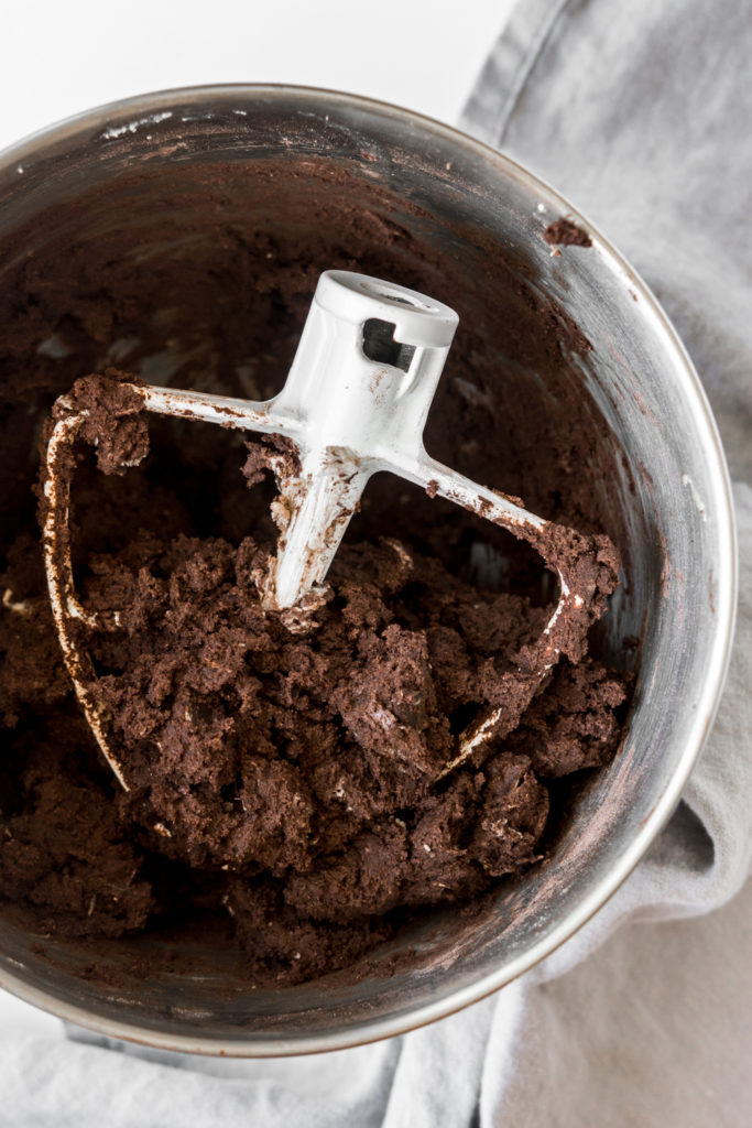 how to make dark chocolate cookie dough