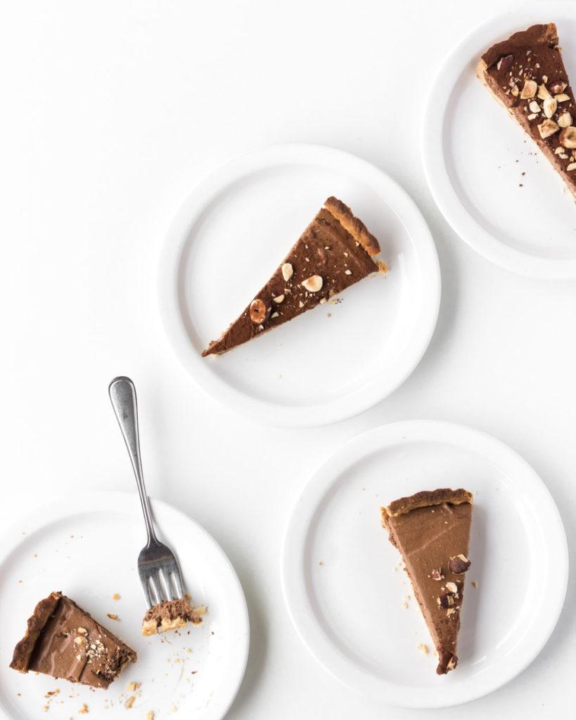 chocolate mousse tart with hazelnut crust--withspice seasonal food blog