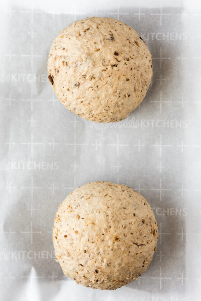 bulgar wheat yeast dough with dried fruit