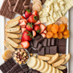 how to make a chocolate board-- withspice food blog