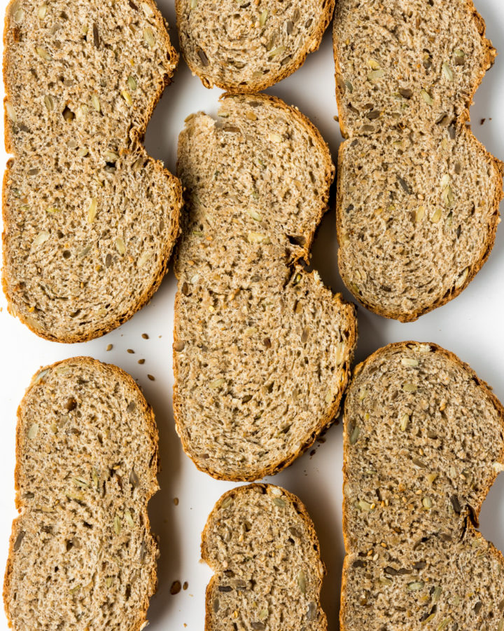 whole wheat seed bread recipe-- withspice seasonal food blog