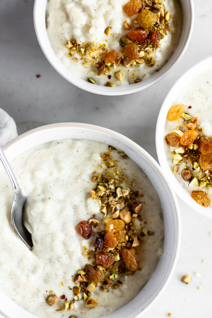 stovetop rice pudding with cardamom and vanilla beanas6a