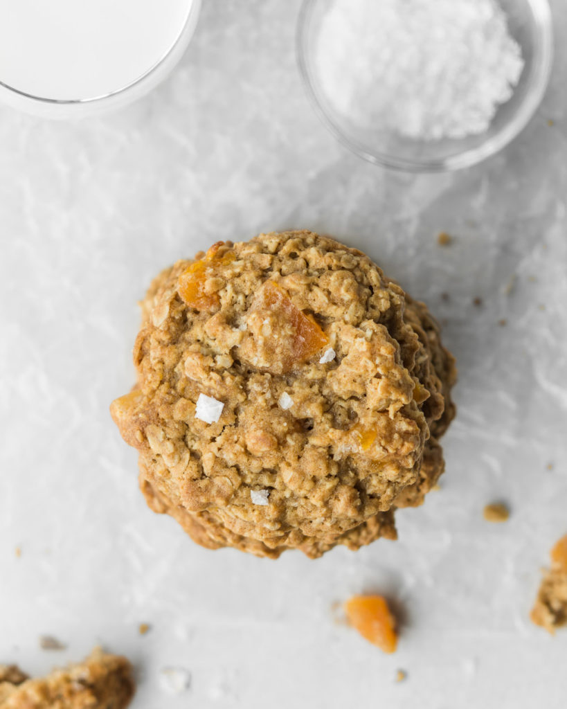 salted oatmeal apricot cookies-- withspice seasonal food blog