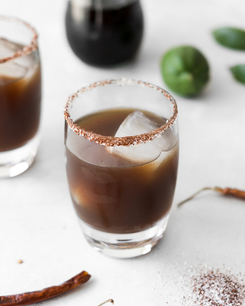 how to make a spicy tamarind margarita-- withspice seasonal food blog