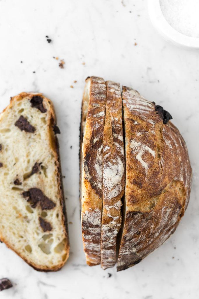 chocolate chunk artisan bread-- withspice seasonal food blog