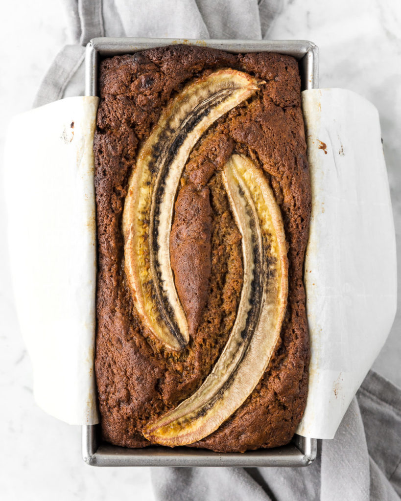 brown butter whole grain spelt banana bread-- withspice seasonal food blog