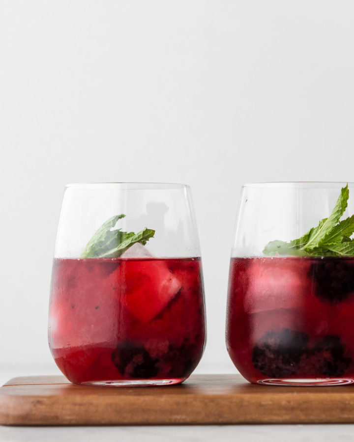 how to make a blackberry ginger whiskey sour-- withspice seasonal food blog