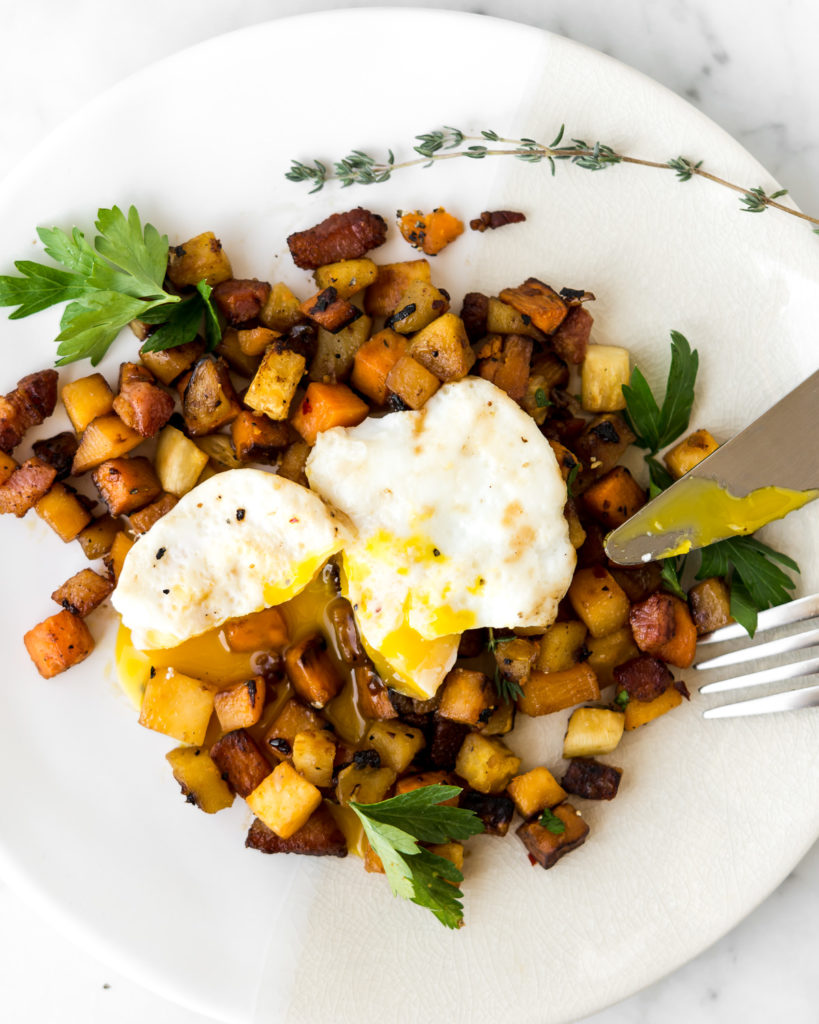 fall root vegetable breakfast hash-- withspice seasonal recipes