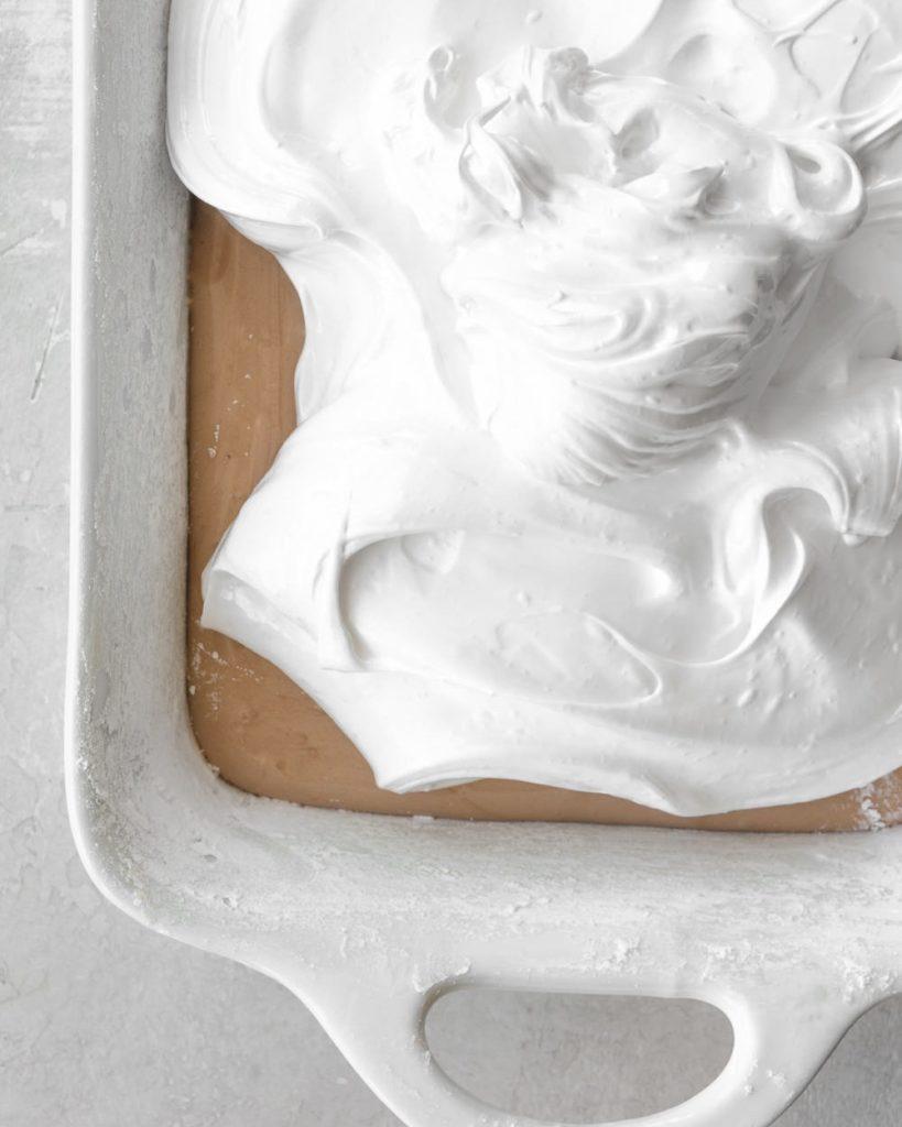 homemade mocha almond marshmallow