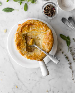pumpkin pot pie with white beans and bacon3