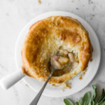 pumpkin pot pie with white beans and bacon5