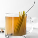 recipe mulled pear cider with ginger and whiskey