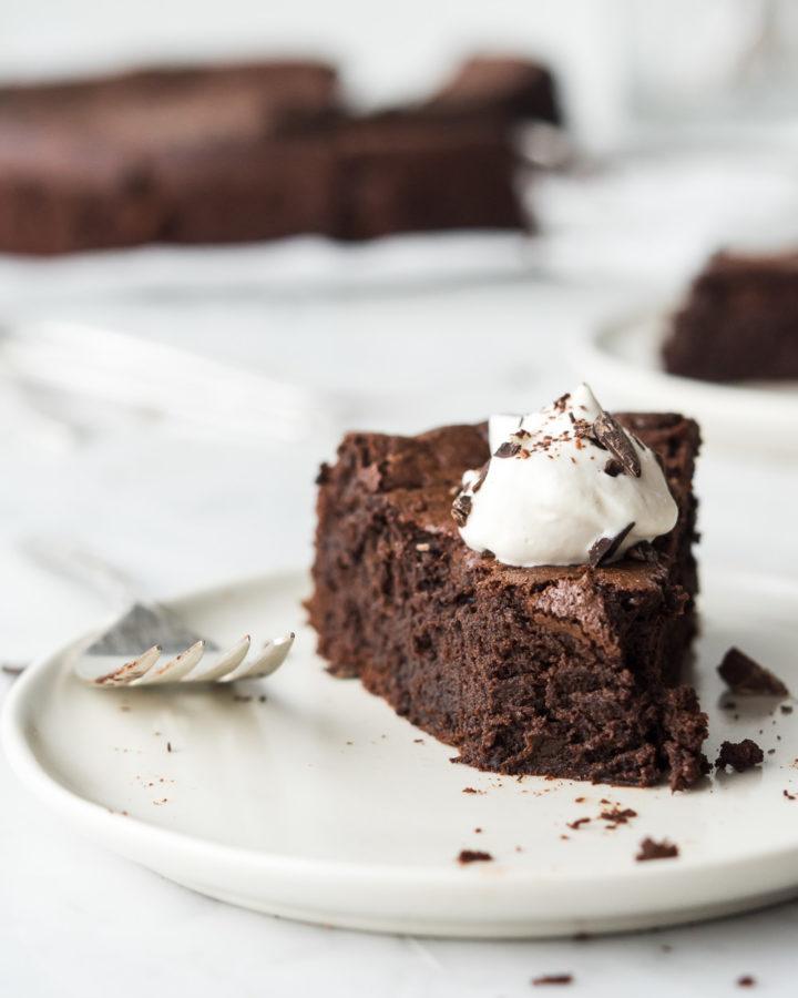 chocolate espresso souffle cake-- withspice seasonal food blog