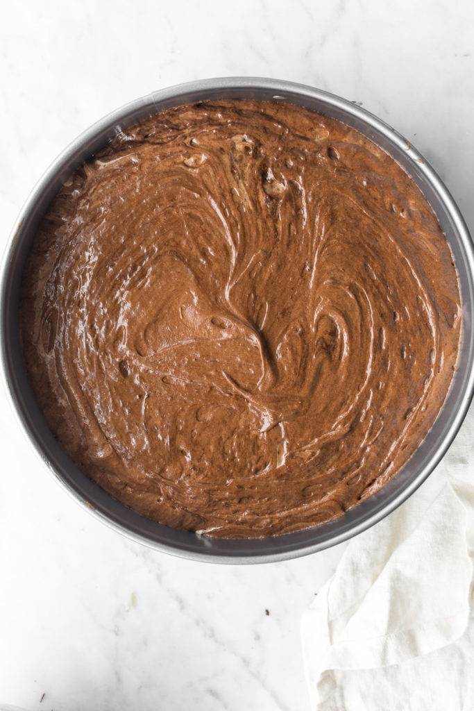 how to make fallen chocolate souffle cake