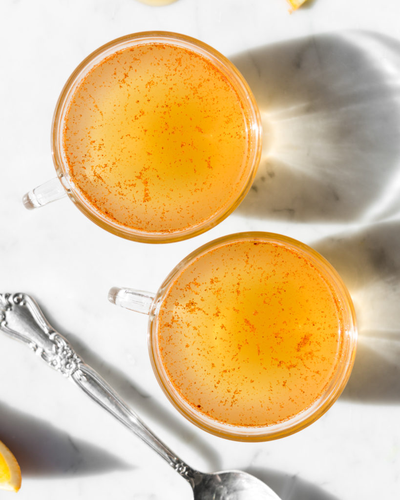 easy ginger hot toddy brandy recipe-- withspice food blog