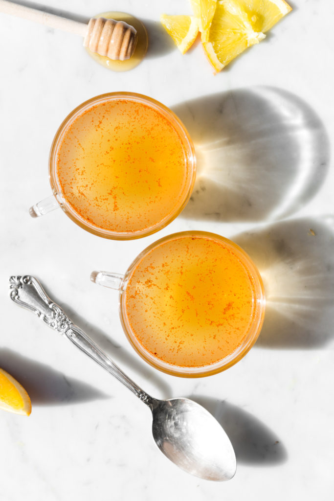 easy ginger hot toddy recipe-- withspice food blog