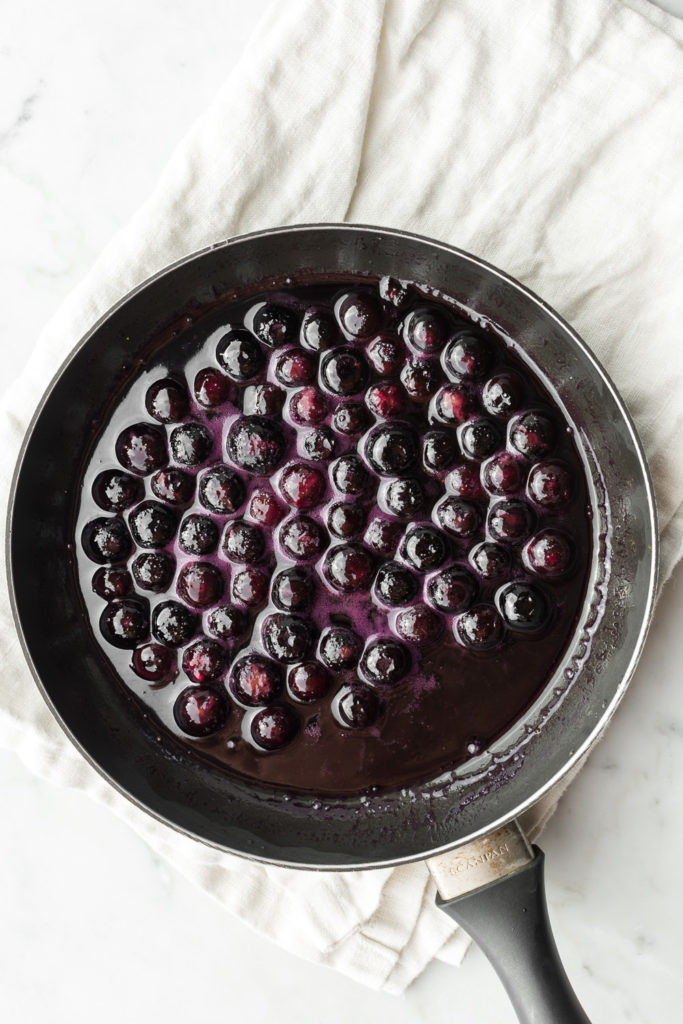maple butter blueberry sauce