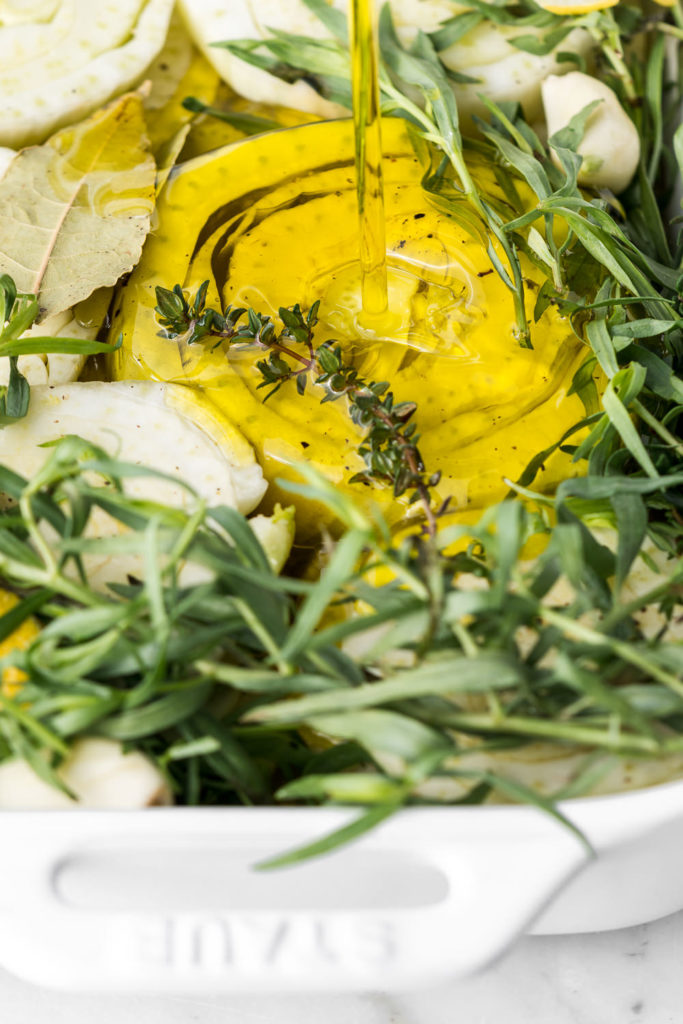 how to make fennel confit