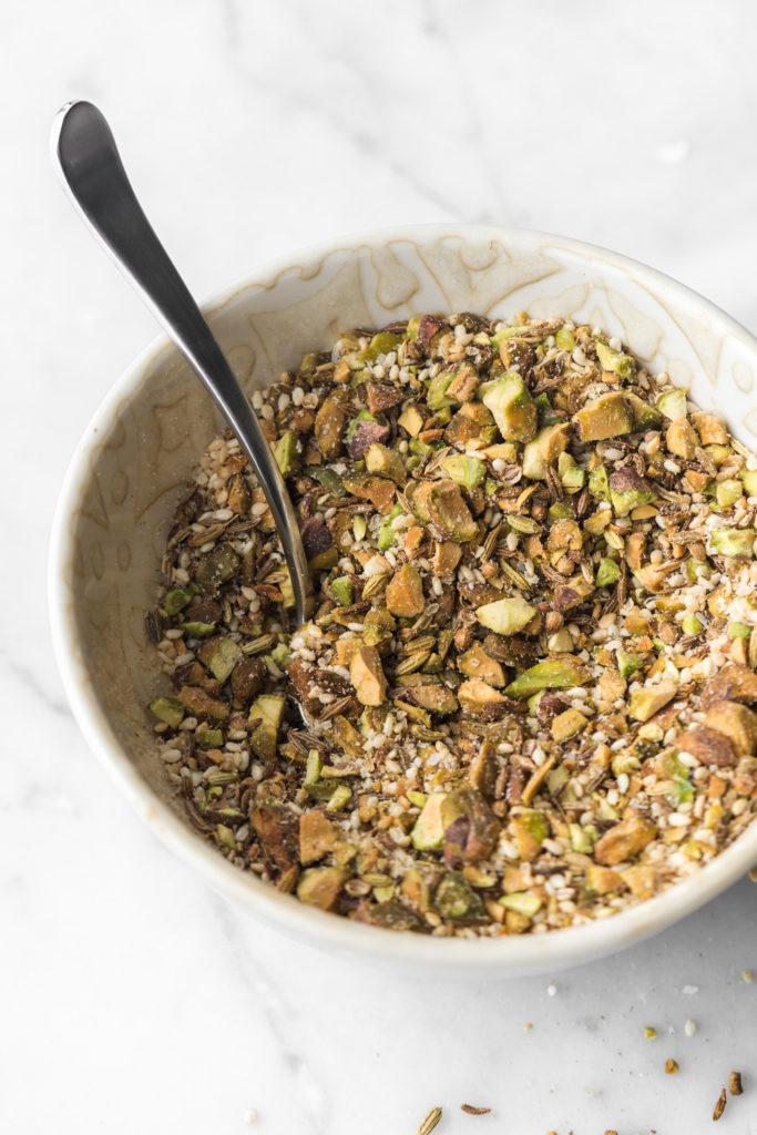 pistachio dukkah recipe
