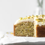 lemon pistachio cake recipe with mascarpone frosting