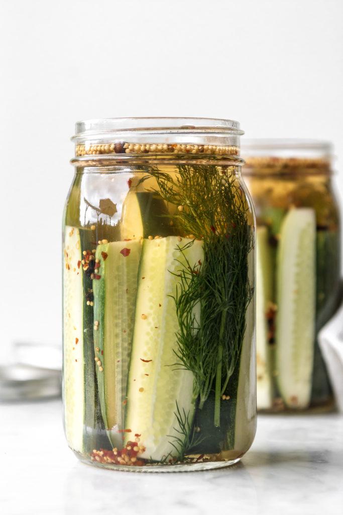 spicy garlic dill pickle recipe
