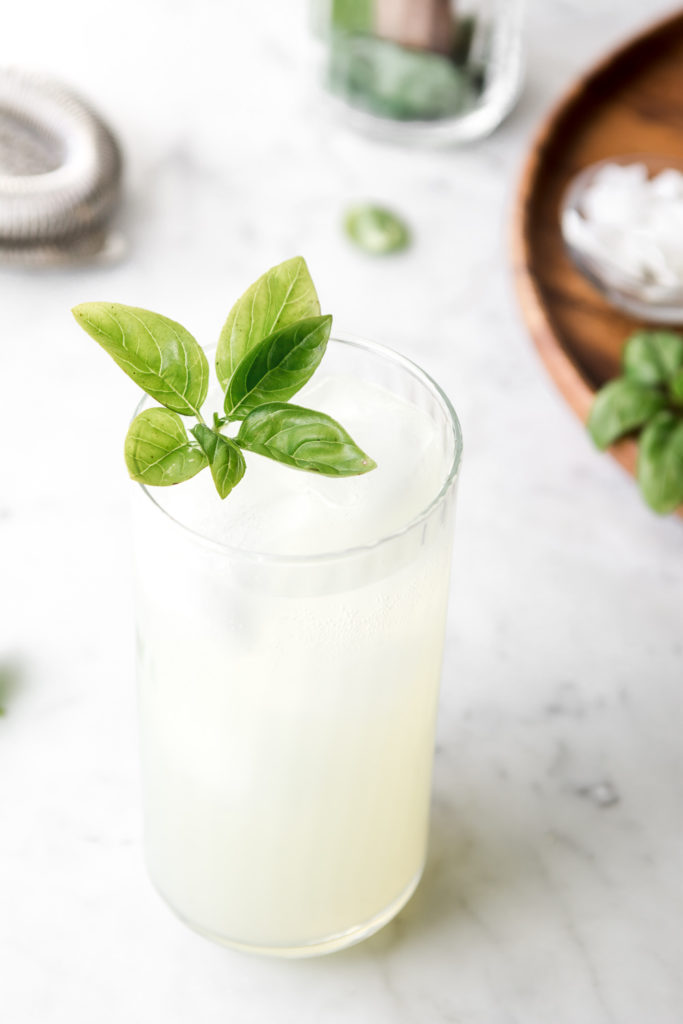 basil coconut mojito