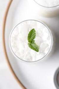 coconut cream rum julep