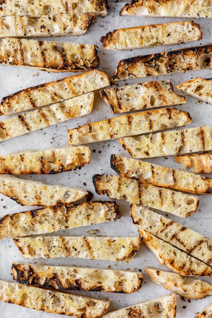 grilled sourdough bread