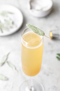 honey pear sage bellini