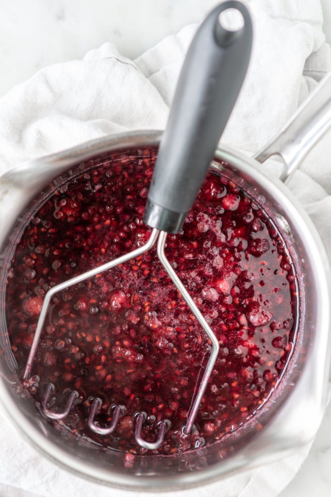 how to make blackberry simple syrup